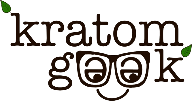 Kratom Geek Logo Black