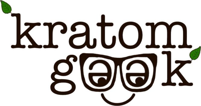 Kratom Geek Logo Black