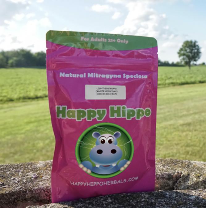 Happy Hippo Lightning Kratom